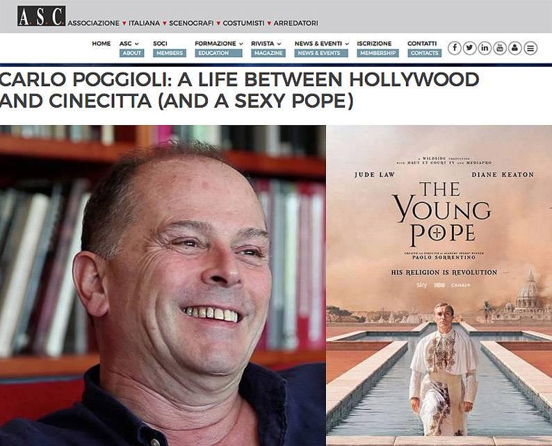 carlo poggioli costume designer the young pope