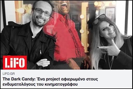 LIFO magazine and TheDarkCandy
