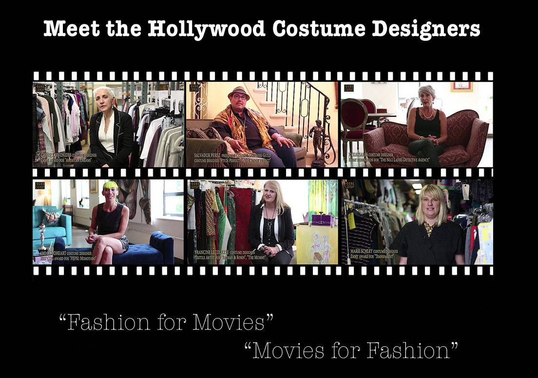 "Poster ""Meet the Hollywood Costume Designers"""