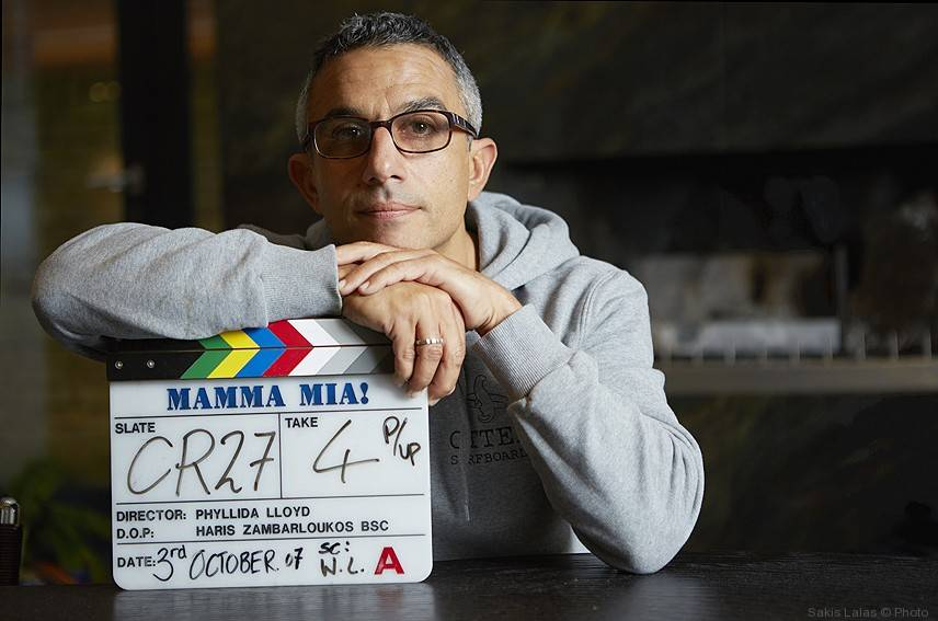 Haris Zambarloukos (cinematographer of Mamma Mia) by Sakis Lalas©