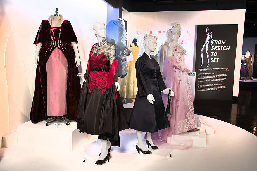 """Phantom Thread"" costumes by Mark Bridges, Academy Award for Costume Design."