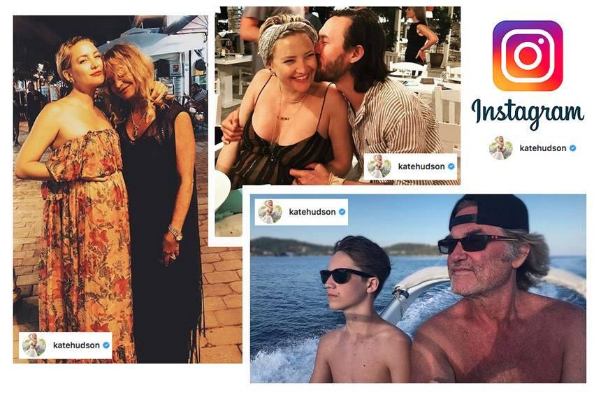 Kate Hudson instagram Skiathos