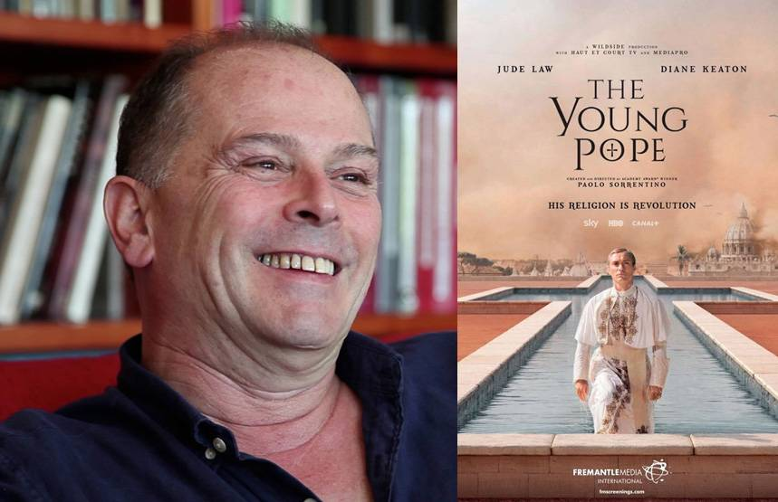 Carlo Poggioli the costume designer of the tv series The Young Pope