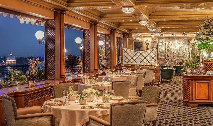 La Pergola Restaurant rome hotel cavalieri