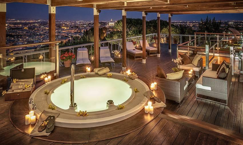 Planetarium Suite Rooftop Terrace Rome Hotel Cavalieri
