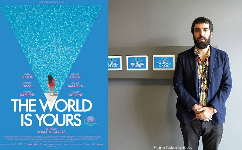 "ROMAIN GAVRAS AND THE COSTUMES OF HIS LAST MOVIE ""THE WORLD IS YOURS"""