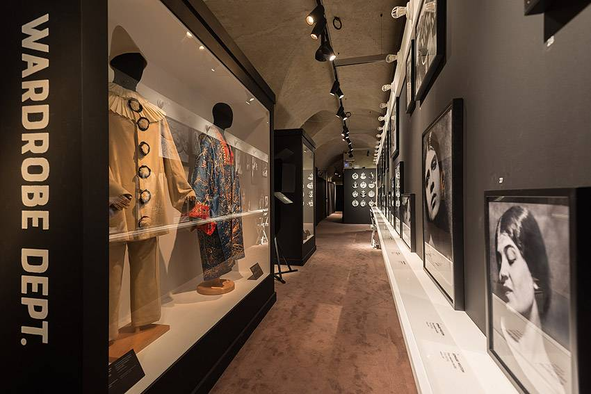Museo Salvatore Ferragamo Italy in Hollywood - hall 3 dedicated to Tina Modotti