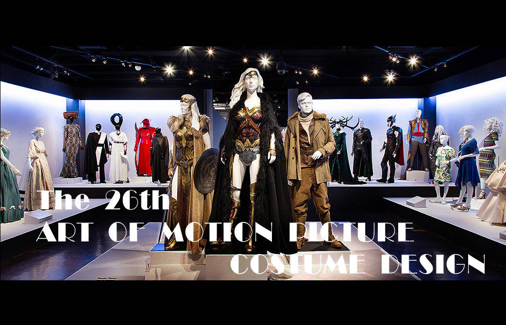 WHERE YOU CAN SEE THE COSTUMES NOMINATED TO THE OSCARS UP CLOSE YOU CAN ALMOST TOUCH THEM