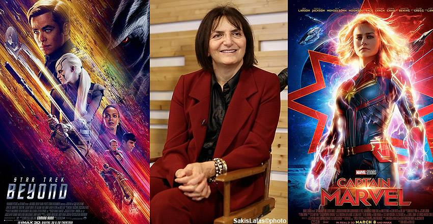 Sanja Hays the costume designer of Captain Marvel