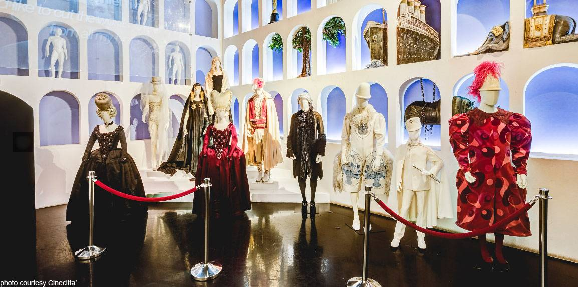 Cinecitta' Shows Off Costumes Exhibition