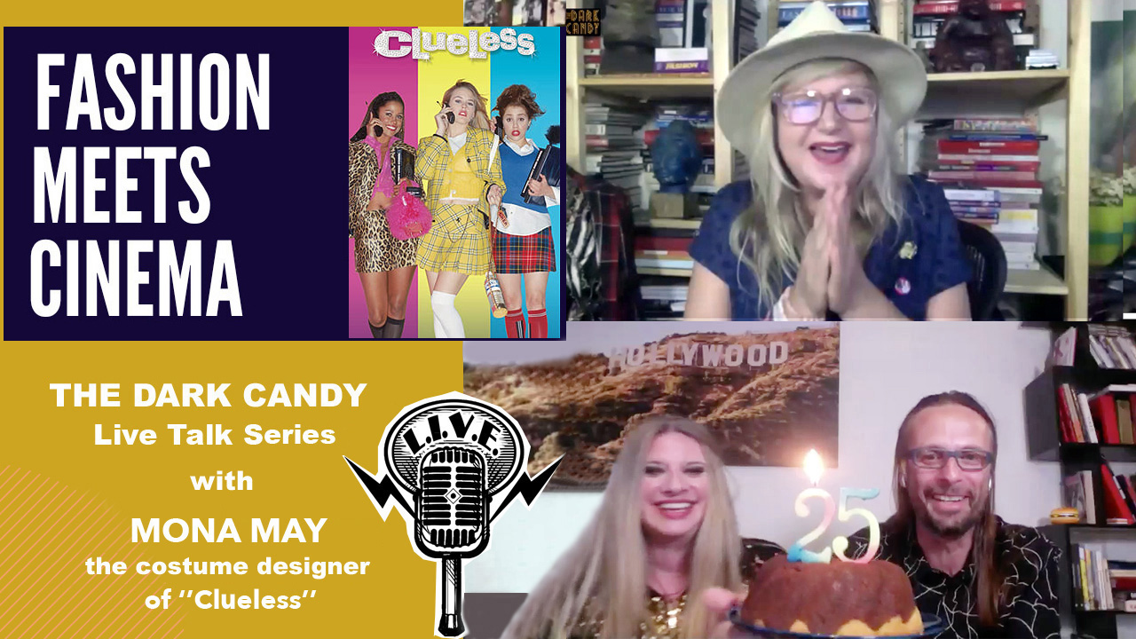 """WE CELEBRATED 25TH  ANNIVERSARY OF CULT MOVIE """"CLUELESS"""" WITH COSTUME DESIGNER MONA MAY"""